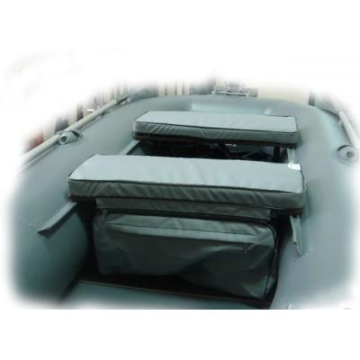 Мягкая накладка 80 х 24 экон. на лодочное сиденье с сумкой