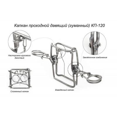 """Капкан проходной """"КП-120"""" Киров"""