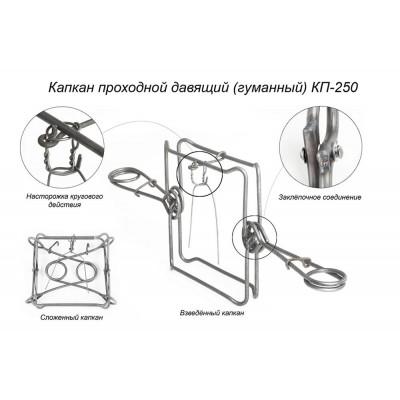 Капкан проходной КП-250 Киров