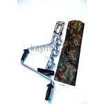 Ледобур титановый стандартный 130мм, 2-х лопастной (Р)