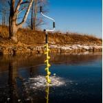 Ледобур рыболовный ICEBERG-130(R)-1300 правого вращения Барнаул