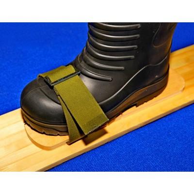Крепление для лыж носковые ремень 45 мм брезент орёл