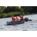 Лодка Мнев и К Кайман N-330 слань+киль моторно-гребная