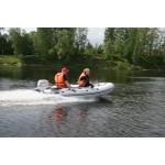 Лодка Мнев и К Кайман N-360 слань+киль моторно-гребная