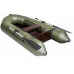 Лодка Пеликан 245Т пол книжка моторно-гребная