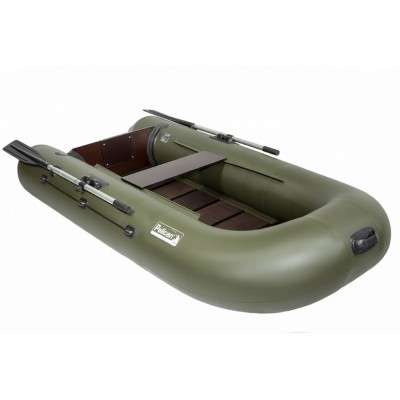 Лодка Пеликан 255Т пол книжка моторно-гребная