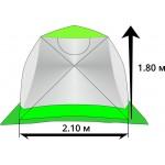 Палатка ЛОТОС Куб Профессионал М