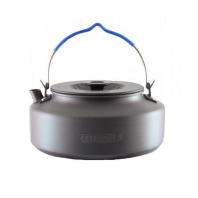 Чайник туристический костровой малый СЛЕДОПЫТ с антипригарным покрытием 1 литр
