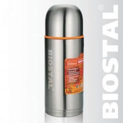 Термос с узкой горловиной (2 пробки) 1,2л NBP-1200 (BIOSTAL)