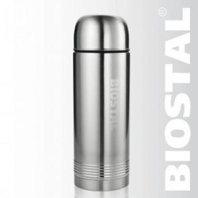 Термос с узкой горловиной (2 пробки) 0,7л NYP-700 (BIOSTAL)
