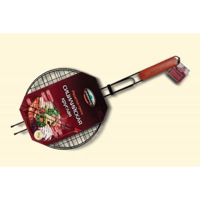 401-022 решетка для барбекю круглая антипригарная Сицилийская