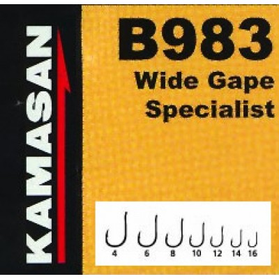 Крючки Kamasan B983-012