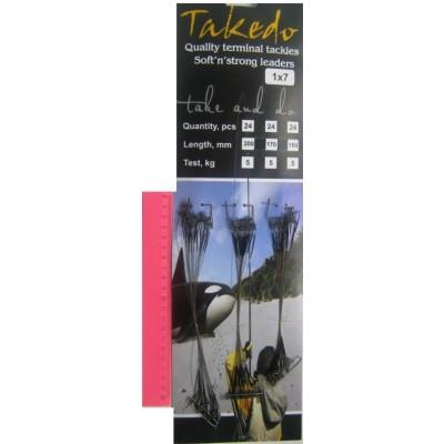 Поводок Takedo 1*7  17см 5к
