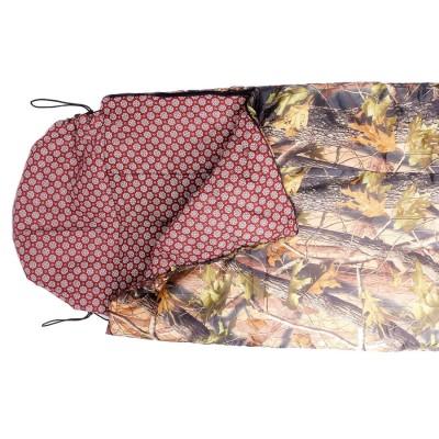 """Спальный мешок """"Аляска""""( 0 С,тк. таффета цв. лес) 90*250 одеяло"""