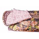 """Спальный мешок """"Аляска""""( -20 С,тк. таффета цв. лес) 90*250 одеяло"""