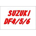 Запасные части и аксессуары для лодочного мотора Suzuki DF4/5/6