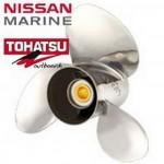 Винты для лодочных моторов Tohatsu  Nissan Marine