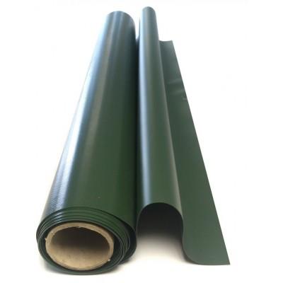 Материал ПВХ (ширина 1,09м, 850гр/кв.м) зеленый
